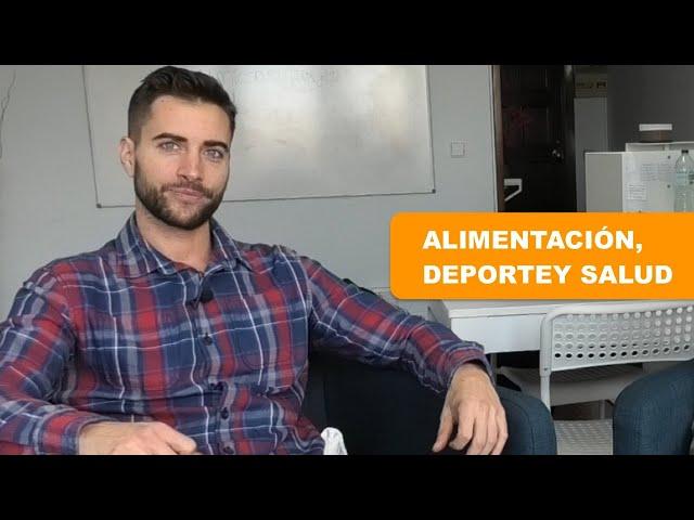 Alimentación, deporte y salud.  Entrevista con el entrenador Jordi Zambrana