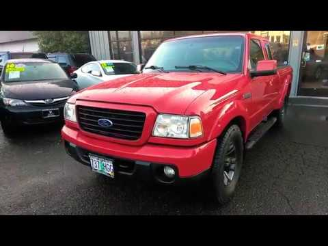 2008 FORD RANGER SPORT 4X4 MANUAL 5SPEED LOW MILES