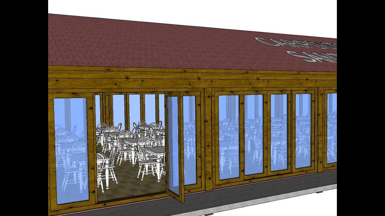 Carpinteria de madera santa clara estructura a dos aguas youtube - Carpinteria santa clara ...