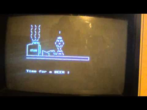 """VT100-Animation """"More Beer"""""""