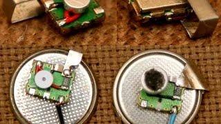 видео Как сделать самодельный радио жучок