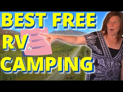 9 Tools For Finding The BEST FREE CAMPING On Public Lands & More!