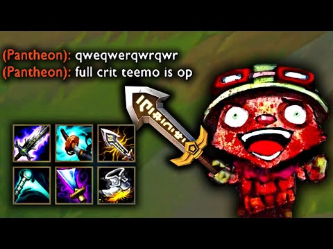 FULL CRIT TEEMO
