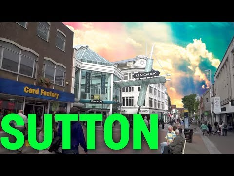 Places To Live In The UK - London Borough Of SUTTON  SM1 England