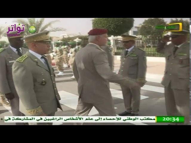 القائد العام لأركان الجيوش يستقبل رئيس اللجنة العسكرية لحلف شمال الأطلسي - قناة الموريتانية
