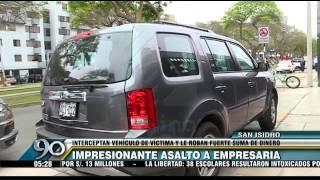 San Isidro: delincuentes desatan balacera a plena luz del día