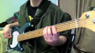 Counting Crows- Mr Jones (Bass Cover)