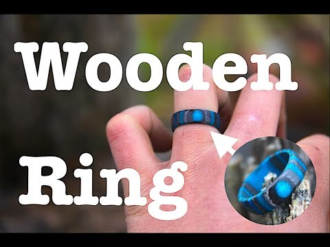 HOW TO MAKE A WOODEN RING! \\ Without a lathe!