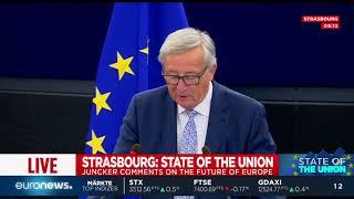 Junckers Rede zur Lage der Union