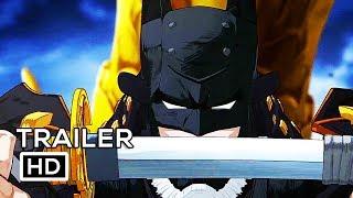 BATMAN NINJA Official Trailer (2018) Animated Superhero Movie HD