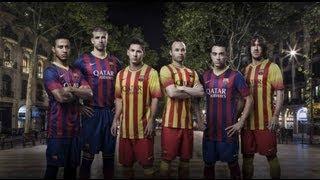 Fc barcelona kits/shirts season 2013 ...