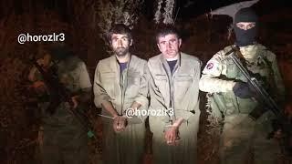 Hakkari de yakalanan 2 PKK lı