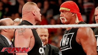 Brock Lesnar crashes Hulk Hogan's birthday celebration: Raw, Aug. 11, 2014 thumbnail