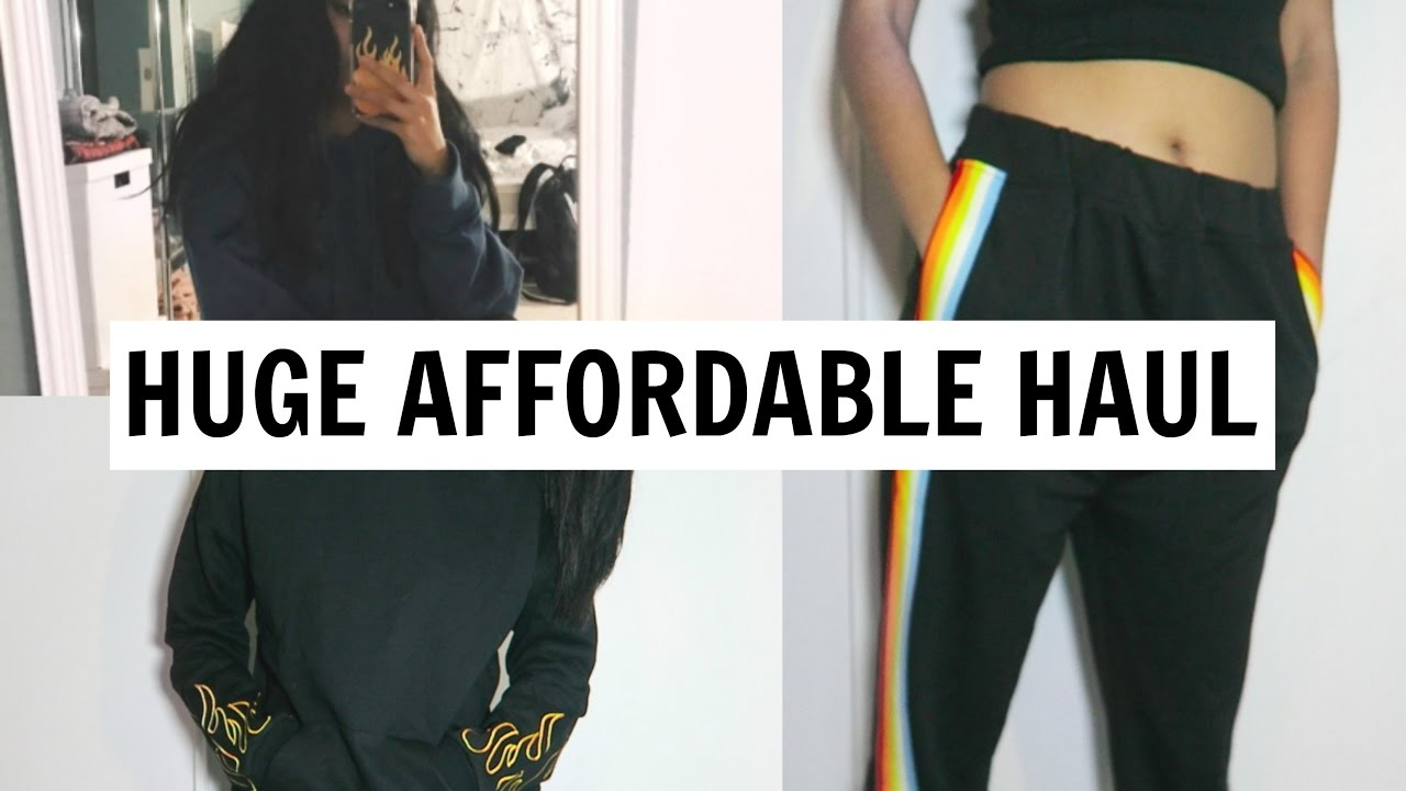 5394978fc28ac6 HUGE AFFORDABLE TRY-ON HAUL ft. SheIn