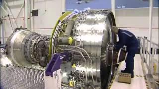 ロールス・ロイス、トレントエンジンができるまでの早回し動画