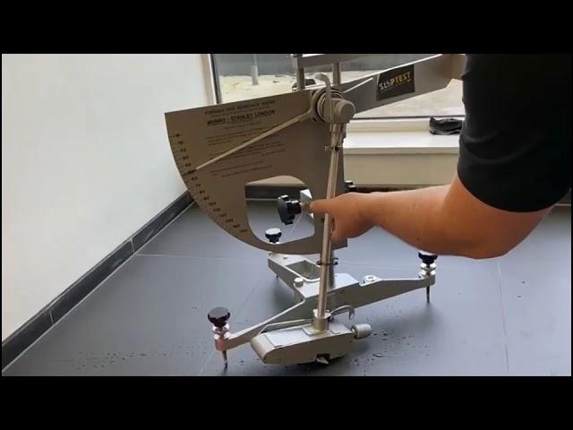 Pendulum slip test