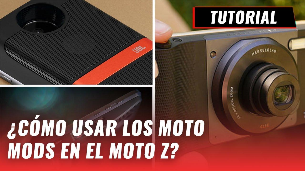 c24fdaa049b Cómo usar los Moto Mods en el Moto Z  - YouTube