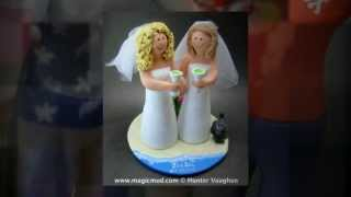 Lesbians Wedding Cake Toppers | wedding cake toppers
