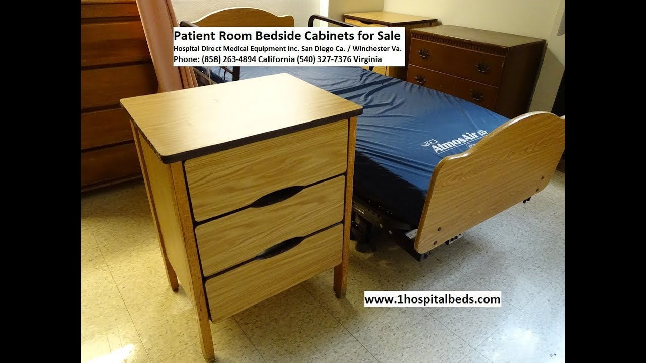 Used Bedside Cabinets Patient Room Furniture