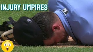MLB | Serious injuries of Umpires