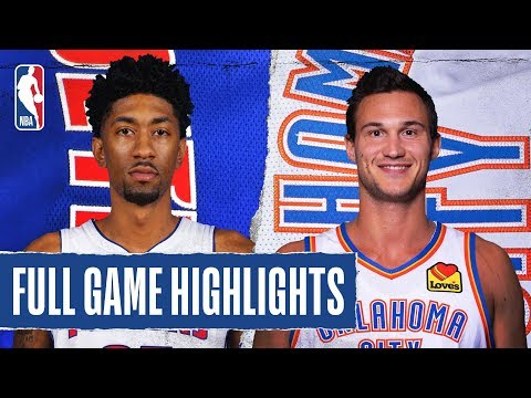 PISTONS At THUNDER | FULL GAME HIGHLIGHTS | February 7, 2020