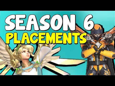 Overwatch Season 6 Placements Tips / Guide - How To Win Placement Matches Overwatch Competitive S6