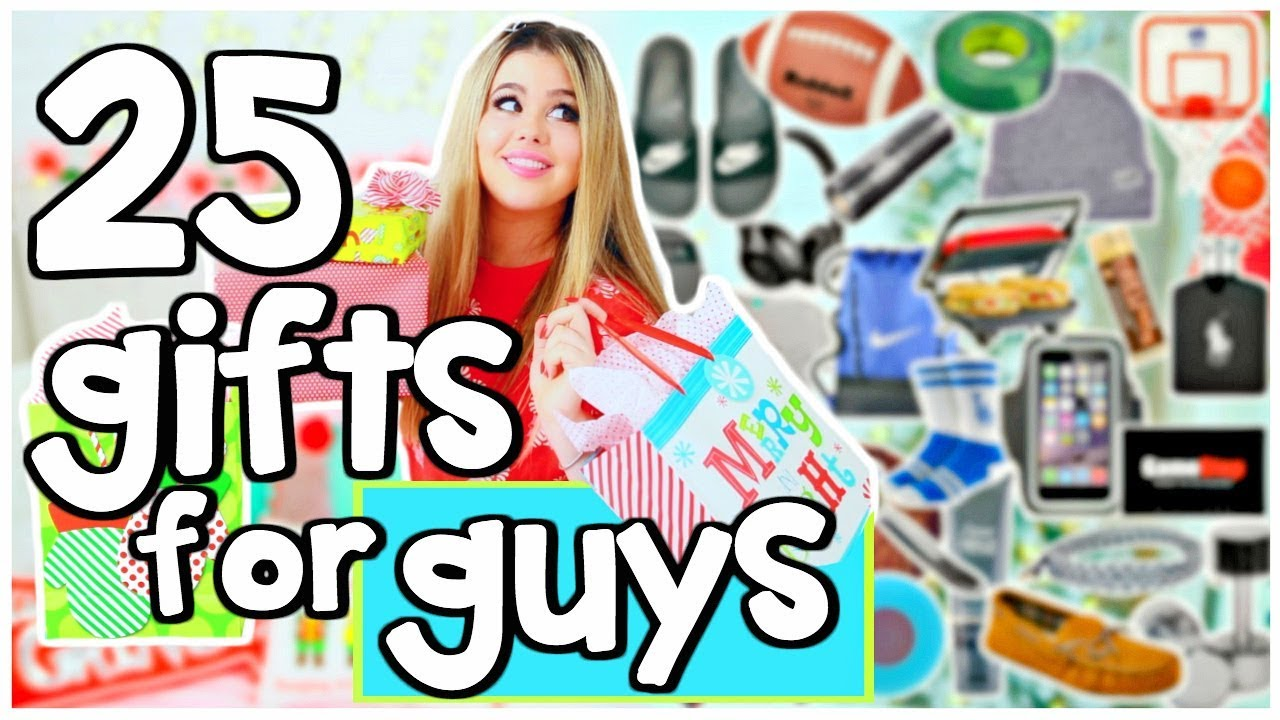 25 Mens Gift Ideas For Boyfriend!!