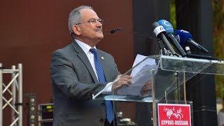 Cyprus Russian Festival 2018. The Mayor of Limassol Mr. Nicos Nicolaides