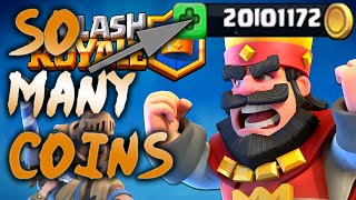 How To Get Lots Of Coins In Clash Royale (TIPS) (Without Gems/ Cheats/ Hacks)
