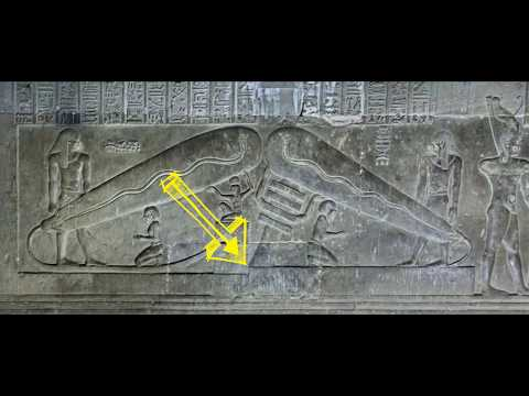 The sine wave sun and the serpent, Dendera Lightbulb decoded
