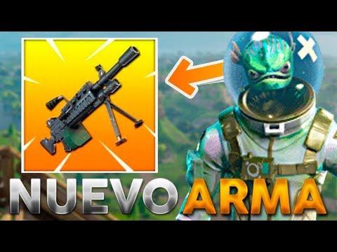 🔴 NUEVA ARMA *AMETRALLADORA LIGERA* Y MODO 50 VS 50! +345 VICTORIAS - FORTNITE Battle Royale