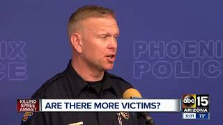 Phoenix police investigating if Cleophus Cooksey committed more murders