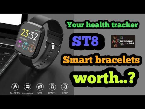 ST8 Smart Watch | ST8 Smart Bracelet By Upgrade India Under 1500