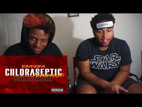 *Fell Off Where??* Eminem-Chloraseptic (Remix) FT 2 Chainz, Phresher | Reaction