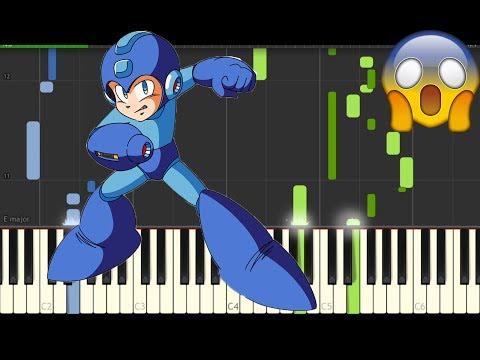 Mega Man III  Title Theme Piano Tutorial Amazingly Awesome
