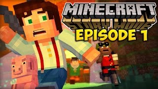 IL FAUT SAUVER MINECRAFT ! | Minecraft Story Mode #Ep1