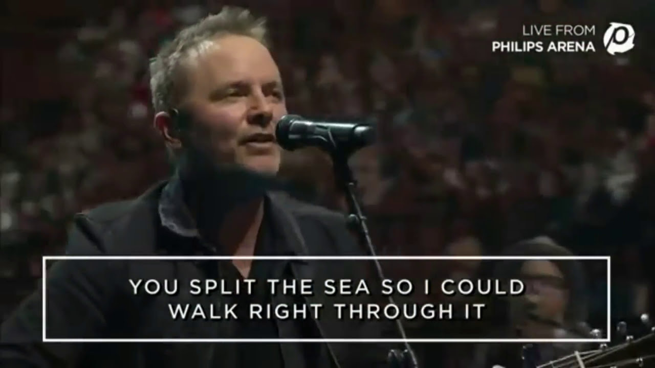 No longer slave to fear..Chris Tomlin...Passion 2016