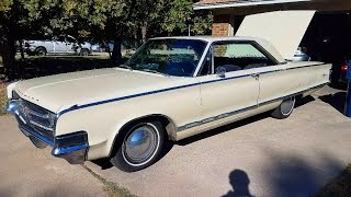 Starting a 1965 Chrysler 300!
