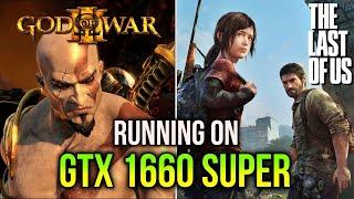 The Last of Us and God of War 3 on PC | GTX 1660 SUPER + RYZEN 7 5800X | RPCS3 Emulator