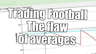 Trading on football matches - The flaw of averages