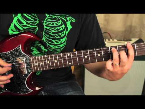 Black Sabbath Guitar Lesson - How to Play Sweet Leaf - Ozzy - Iommi - Gibson SG