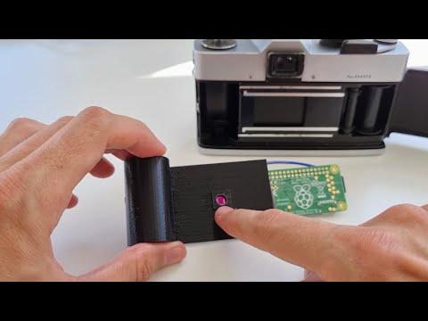 Digital Film Cartridge for Analog Cameras (using Raspberry PI)