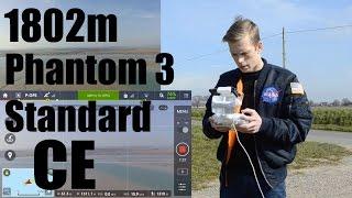 Phantom 3 Standard - 1800m CE Mode