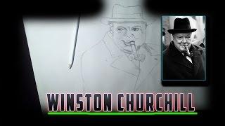 Drawing Winston Churchill!