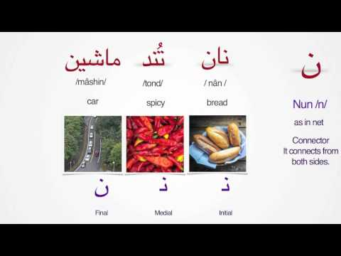 Persian Alphabet - Lesson 8 | Letters Nun- Ye