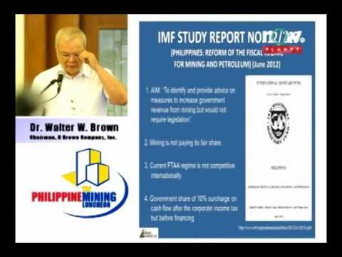 The Philippine Mining Luncheon Part 1