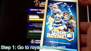 WOW! Clash royale hack - free clash royale hack Gems (Android & IOS ) 2016