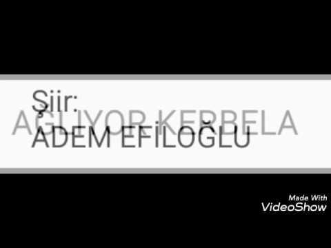Şiir-AĞLIYOR KERBELA