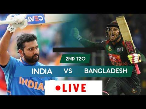 Live Match: India Vs Bangladesh   Ban vs Ind 2nd T20 Live match Score