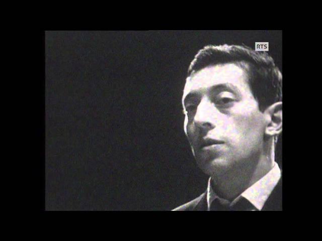 Serge Gainsbourg - La chanson de Prévert (1962)